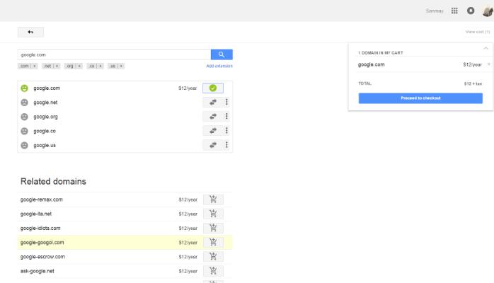 谷歌不小心把Google.com域名给卖了-老D