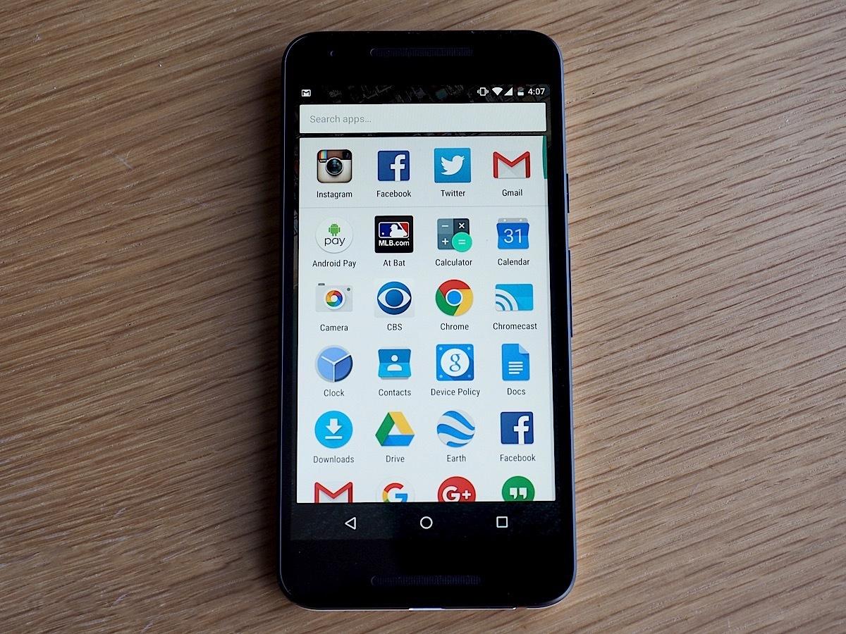 Google Now Launcher 现在会强制统一应用图标大小