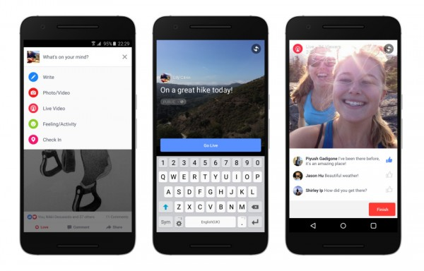 Facebook:将把Facebook Live直播功能带到安卓平台和更多国家