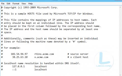 hosts文件在哪?什么修改?另附Windows7/8/10 Mac/iPhone原版hosts文件