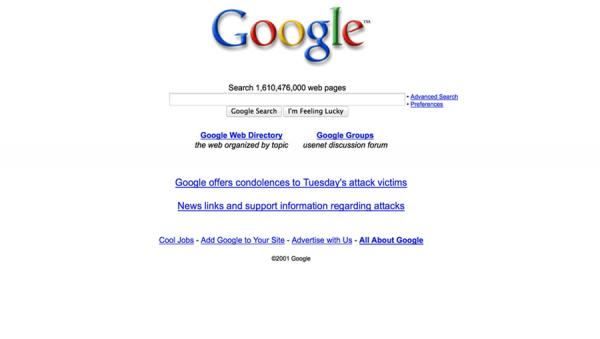 Google 十八岁了!我们还是那样爱她
