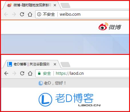 """谷歌强推HTTPS:Chrome 62 将所有需输入数据的HTTP页面标为""""不安全"""""""