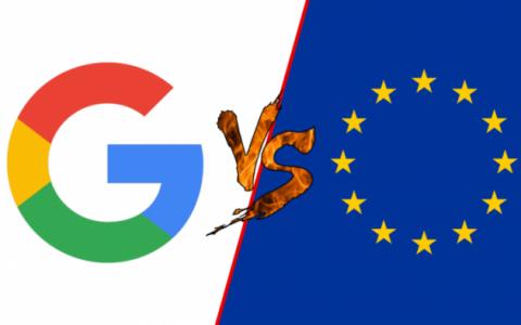 谷歌不服欧盟29亿美元罚款 今日正式提起上诉