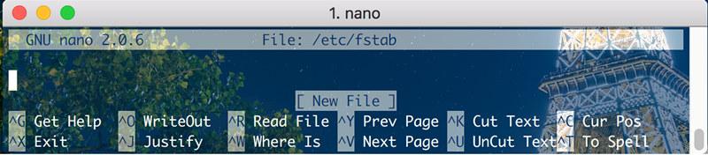 Mac NTFS读写问题(已补图)