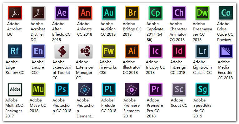 Adobe-CC-2018-all