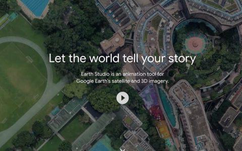 Google 新神器:Google Earth Studio 航拍 制作动画视频工具