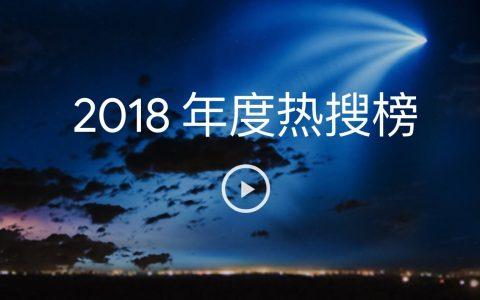 谷歌发布2018年度热搜榜:世界杯排第一 还有一个中文词在首位