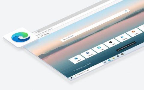 微软Chromium Edge浏览器新Logo,明年1月15日正式上线