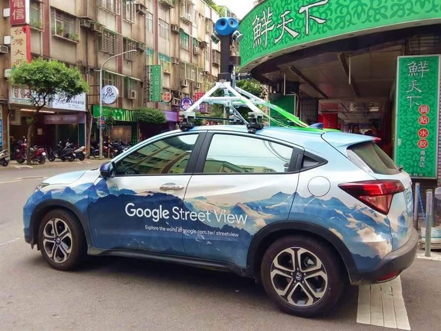 谷歌街景车