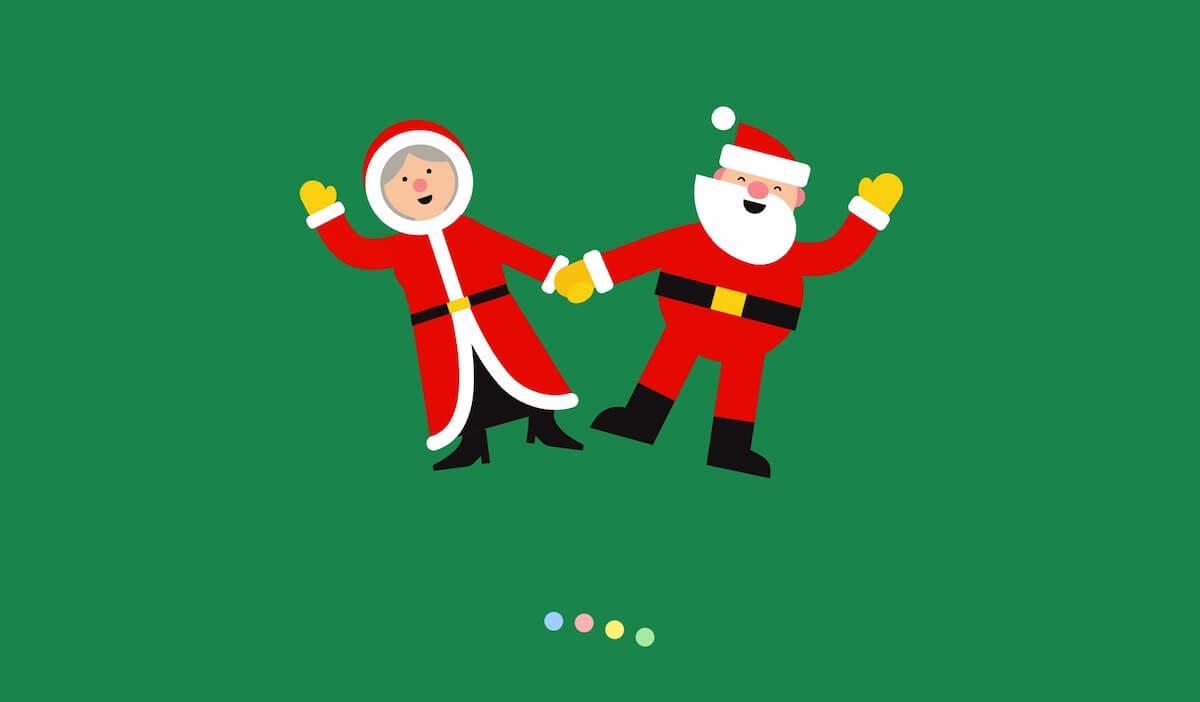 Google圣诞