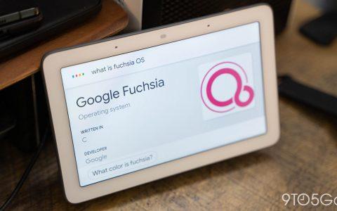 Google 正式向用户推送 Fuchsia OS
